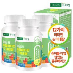 [건국] 패밀리 종합비타민 앤 미네랄 90정x3개(9개월)