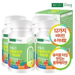 [건국] 패밀리 종합비타민 앤 미네랄 90정x4개(12개월)