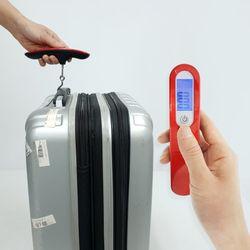 여행용 손저울 캐리어 수화물 디지털저울 무게측정