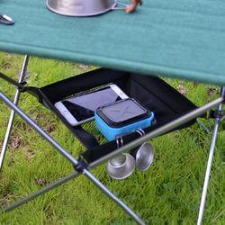 테이블 수납바스켓 대형 28x28cm 백팩킹 캠핑용품