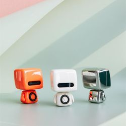 크리에이티브 로봇 블루투스 스피커 휴대용미니스피커