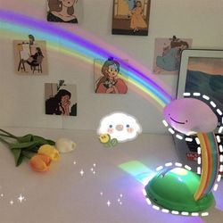 RGB 무지개색 구름 무드등 레인보우 테이블 램프