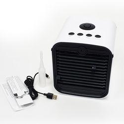 USB공기청정 냉풍기KCW-023A 저소음 에어쿨러 무드등