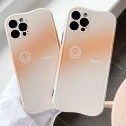 아이폰12 PRO 11 X 8 SE2 스마일 그라데이션 폰케이스