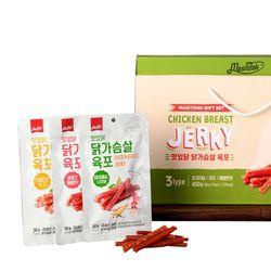 [무료배송] 닭가슴살 육포 선물세트