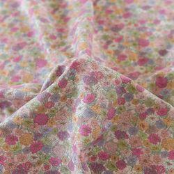 [Fabric] 애슐리 핑크 린넨