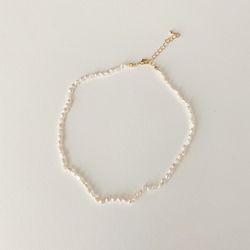 N Pretty Pearl Necklace - 담수진주