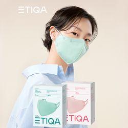 에티카 에어라이트 컬러 마스크 새부리형 핑크 10매