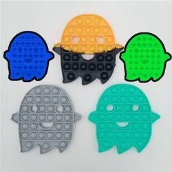 귀여운 유령 야광 푸쉬팝 팝잇 버블 장난감 피젯 토이