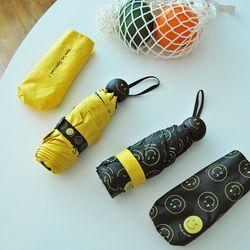 휴대용 자외선 5단 스마일 우산 겸 양산