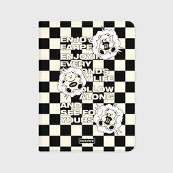 CHECK BOARD BABA-BLACKIVORY(아이패드-커버)