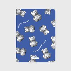 STEEL COVY PATTERN-BLUE(아이패드-커버)