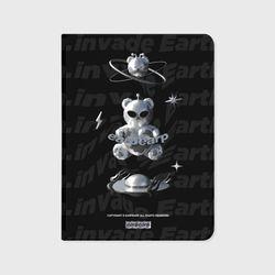 SPACE NIGHT STEEL BEAR-BLACK(아이패드-커버)