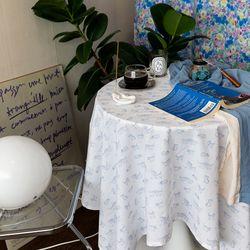 온더마이키튼 식탁보 테이블보 135x135cm