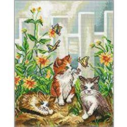 보석십자수 아이러브페인팅 액자형 캔버스 동물 시리즈 40x50