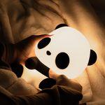 LED 에버랜드 아기판다 푸바오 실리콘 무드등 수유등