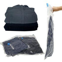 압축팩(100x130cm) 여행용 휴대용 의류 이불 압축기