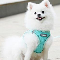 아이니샵 강아지 리드줄 여름 자외선 차단 쿨조끼