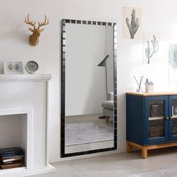 디자이너스룸 리아 와이드 메탈 전신 벽 거울