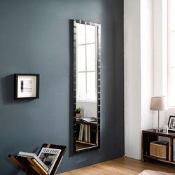 디자이너스룸 리아 슬림 메탈 전신 벽 거울