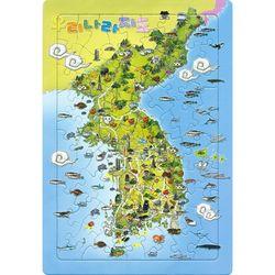80조각 판퍼즐 - 우리나라 지도