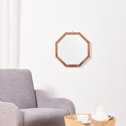 [디자이너스룸] 리아 메탈 정팔각 거울 400