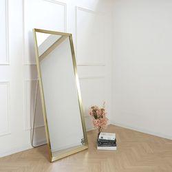 [디자이너스룸] 리아 트라이앵글 와이드 스탠드 거울