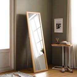 [디자이너스룸] 리아 슬림 우드 전신 스탠드 거울