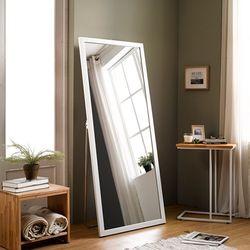 [디자이너스룸] 리아 와이드 우드 전신 스탠드 거울
