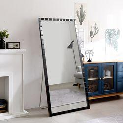 [디자이너스룸] 리아 와이드 메탈 전신 스탠드 거울