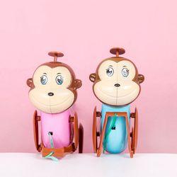 밧줄타는 원숭이 사운드 인형 토이 작동 완구 키덜트