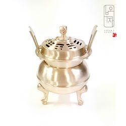 오부자방짜유기 제사 향로  무형문화재14호