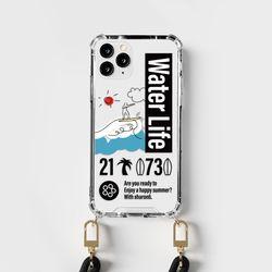 샤론6 툭 스트랩 디자인 핸드폰 폰 케이스 서퍼라이프