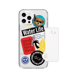 샤론6 아이폰 카드 쏙 핸드폰 디자인 폰 케이스 썸머웨이브