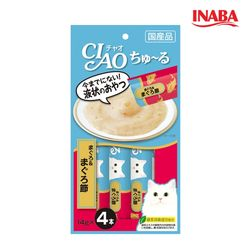 이나바 챠오츄르 - 참치+참치포 4개입 X48개