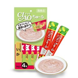 이나바 챠오츄르-닭가슴살+오징어(4개입)X48개