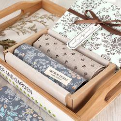 Medium Tempo Hankie - 손수건 숲 & 멜란지 2종 선물세트