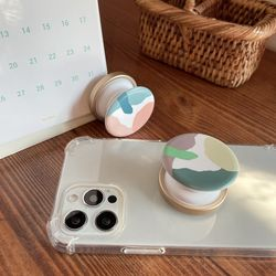 태그그립 원형 카모 정품 교통카드 그립톡 예쁜 스마트톡
