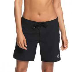 록시 여성 블랙 보드숏 수영복 (R921BS016KVJ)(NEWP0FV26T)