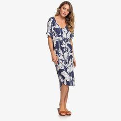 록시 여성 플라워프린팅 비치 원피스 드레스 (RA21DR104BS7)(NEWWICWFY4)
