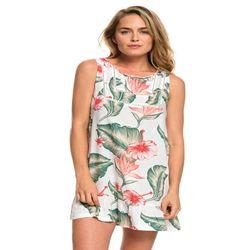 록시 여성 프린팅 슬리브리스 원피스 드레스 (R921DR137WB7)(NEWFM2FHWD)