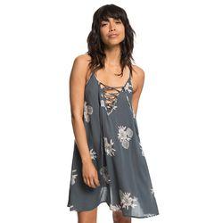 록시 여성 프린팅 슬리브리스 스트랩 비치 드레스 (R921DR071KY7)(NEWB82XQX9)