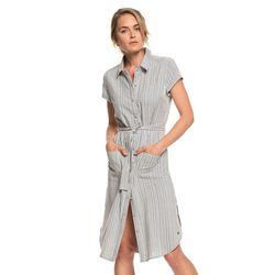 록시 여성 스트라이프 원피스 셔츠 드레스 (R921DR035KYM)(NEWZQR3IVZ)