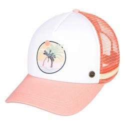 록시 여성 핑크 메쉬 트러커 캡 모자 (RA23CP165MJN)(NEWXN260UE)