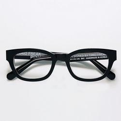 [자이언티 착용] 픽시 블랙 클리어 아세테이트 안경(ITEMGEZHI7F)