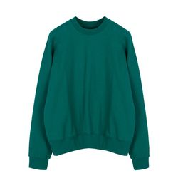 AF279PS204_Logo Patch Sweatshirt_Green(ITEMGIA08E4)