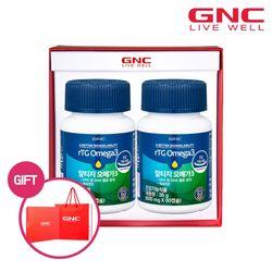 [GNC] 알티지 오메가3 60캡슐 (1개월분) x2병 세트