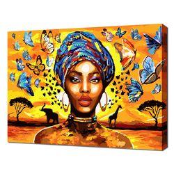 [명화그리기]4050 드림 오브 아프리카 26색 인물화 일러스트