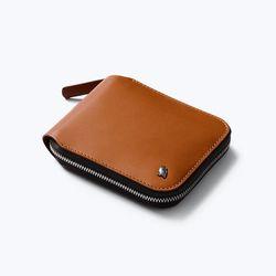 벨로이 Zip Wallet - Caramel