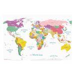 에이든 데코 세계지도 - 월드맵 대형 인테리어 지구본